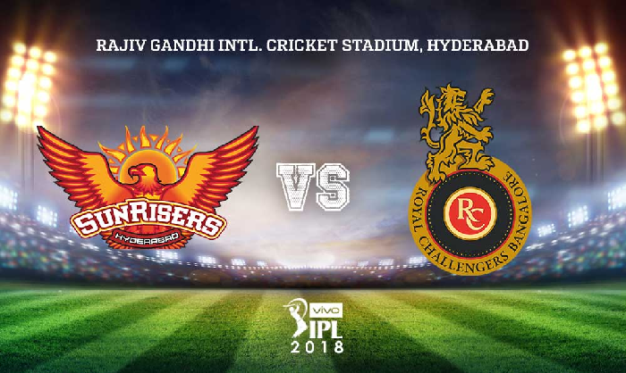 SRH VS RCB DREAM11